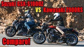 3. 2018 Suzuki GSX S1000Z vs Kawasaki Z 900RS