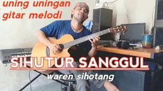 Download Lagu SIHUTUR SANGGUL tortor uning uningan melodi gitar waren sihotang (official) Mp3