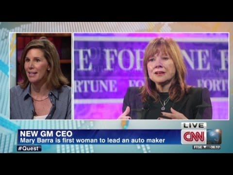 new - Fortune's Leigh Gallagher shares her insights on GM's new CEO. More from CNN at http://www.cnn.com/