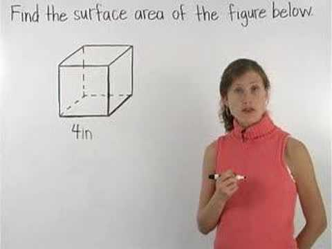 Surface Area of a Cube Video