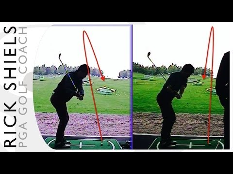 Weak Fade To Powerful Draw Golf Lesson