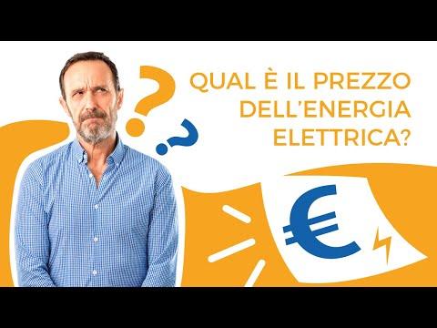 Qual è il prezzo dell'energia elettrica?
