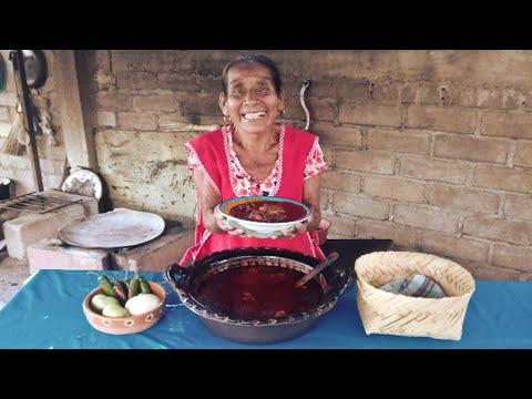 Hoy Cocine Una Sabrosa CARNE DE PUERCO EN SALSA DE CHICATANAS | DOÑA LUPITA