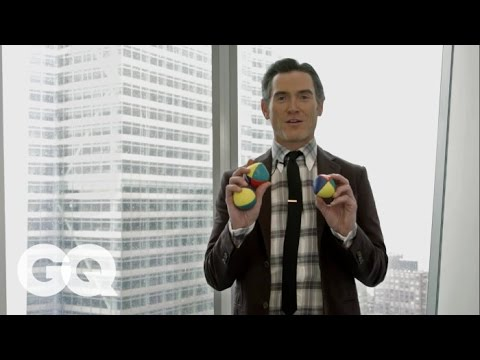 Billy Crudup Teaches You How to Juggle