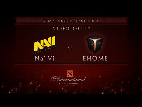 EHOME vs NaVi – Game 4, Championship Finals – Dota 2 International – English Commentary