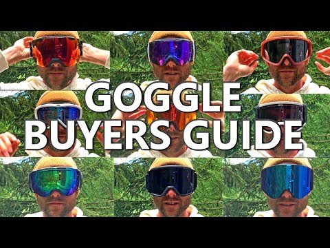 SNOWBOARD GOGGLE BUYERS GUIDE