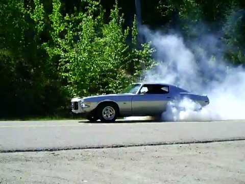 1971 Camaro Burnout