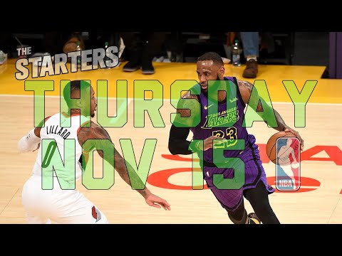 Video: NBA Daily Show: Nov. 15 - The Starters