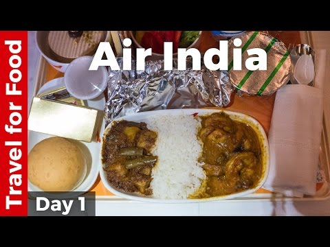 Bangkok to Mumbai on Air India (Food Review)