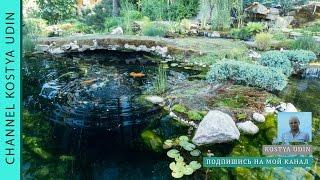 Как сделать озеро в японском стиле (финиш)/ фен-шуй (How to make a lake in Japanese style.Feng Shui)