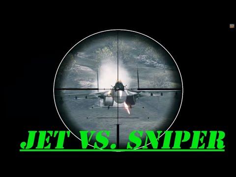 ★ EPIC Kill JET VS SNIPER ★ TOP 10 FINALIST ★ ONLY IN BATTLEFIELD 3 ★