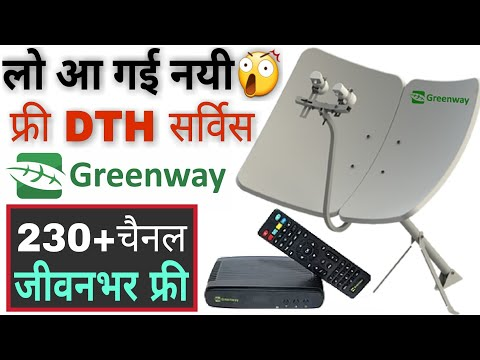 Greenway Free DTH Service|Greenway Free TV Full Explained|Freedish|Dual Lnb Horizontal dish annetina