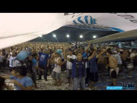 Copa Libertadores 2015 - Salida Telones - La Guardia Imperial - Racing Club