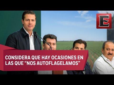 Peña Nieto descarta que México esté en una situación crítica