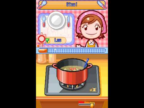 Nintendo DS Longplay Cooking Mama