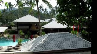 Rasananda Resort, Koh Phangan, Thailand - Our Room Ocean View Terrace Pool