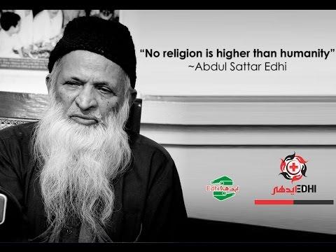 documentary on the legend of pakistan Abdul sattar edhi (видео)