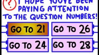 Joey Doey Plays Imposimble quiz