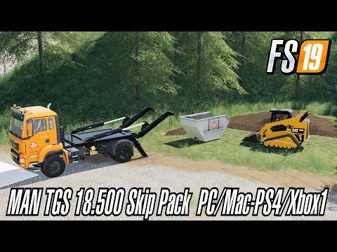MAN TGS 18.500 Skip Pack v1.1.1.0