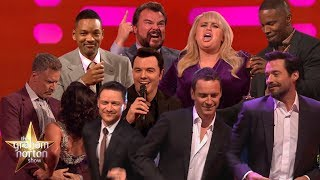 Video Celebrities Singing & Dancing on The Graham Norton Show! MP3, 3GP, MP4, WEBM, AVI, FLV September 2019