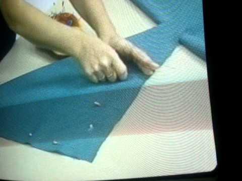 Como hacer cenefas drapeadas paso a paso - Imagui