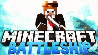Minecraft BATTLESHIP Minigame - Realistic Childhood Game! (Battleship War in Minecraft)