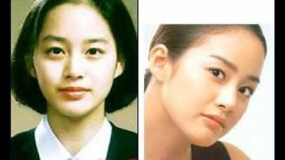 Before & After ( Koreans and Japans Celebrities ) # 1