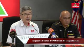 20160522 Launch of Gerakan Sg Besar By Election Operation Room