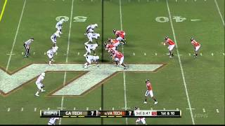 Rod Sweeting vs Virginia Tech (2012) vs Virginia Tech (2012)