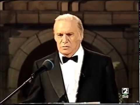 Francisco Rabal Recital de Poesia