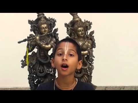 Video Ashtanga Hrdayam - 10 year old Abhigya chanting the entire 1st chapter of Ashtanga Hrdayam download in MP3, 3GP, MP4, WEBM, AVI, FLV January 2017