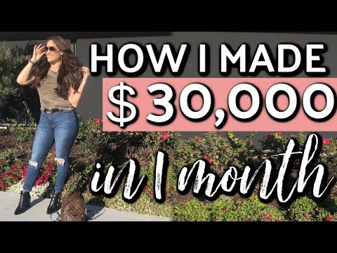 Fat burner - Exactly how I make $30,000 per month on social media  Boss babe episode 12