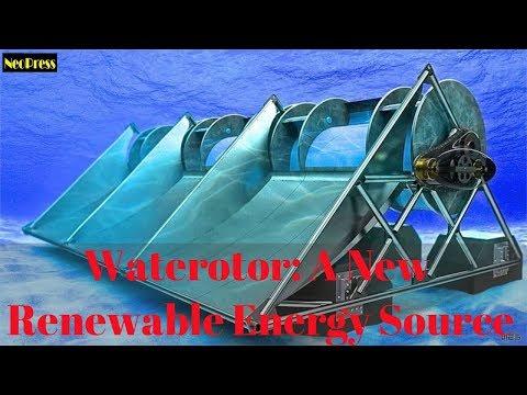 Waterotor: A New Renewable Energy Source