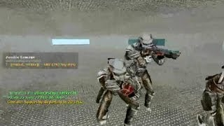 me playing online Counter Strike Source Zombie Escape mod with Predator and aliens Skins