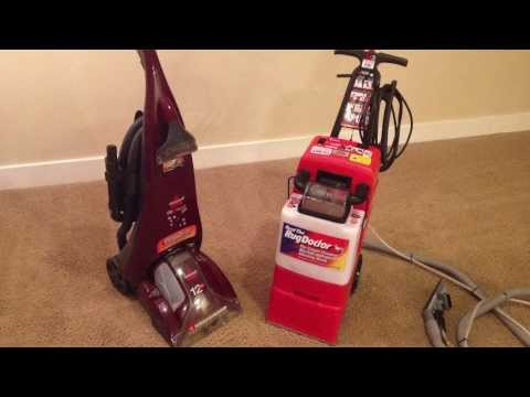 REVIEW The Rug Doctor Carpet Cleaner