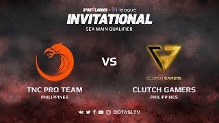 TNC Pro Team против Clutch Gamers, Первая карта, SEA квалификация SL i-League Invitational S3