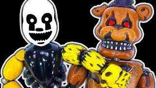 FNaF Fix Nightmarionne Puppet Toy Break Nightmare Freddy's Leg