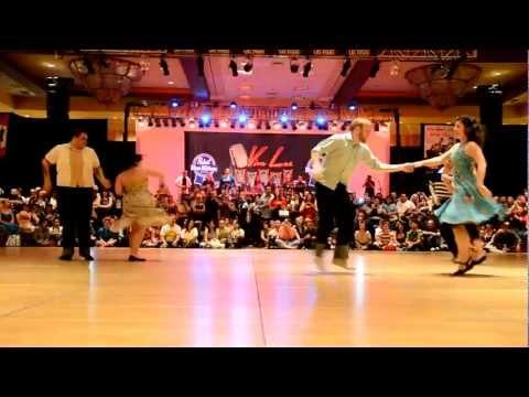 Jive Dance Contest at Viva Las Vegas Rockabilly Weekend 2012