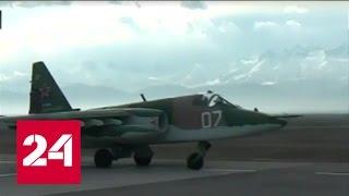 Учения в Таджикистане: российские Су-25 отработают уничтожение баз террористов