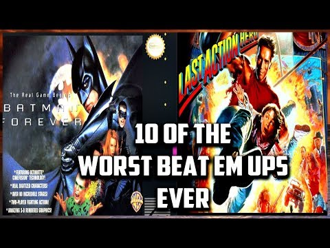 10 Of The Worst Beat Em Up's Ever