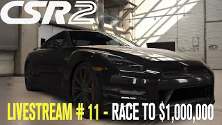 CSR Racing 2 (by Naturalmotion) - iOS / Android - HD LiveStream # 11 - RACE TO $1,000,000