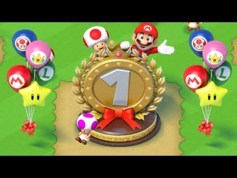 Super Mario Run - 1 Year Anniversary Event - New Items