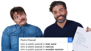 Video Oscar Isaac & Pedro Pascal Answer the Web's Most Searched Questions | WIRED MP3, 3GP, MP4, WEBM, AVI, FLV Maret 2019