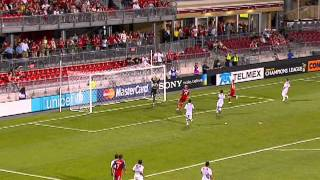 7.27.11 CCL Highlights Toronto FC v Real Estelí