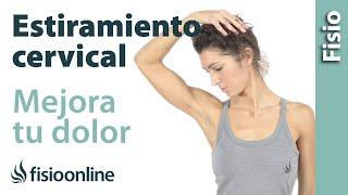 Estiramientos y movilizaciones para las cervicales.Fisioterapia-online.com