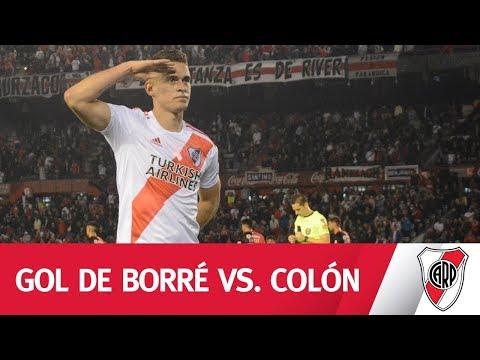 Remate de Quintero y una definición de Borré que ponía el 2-0 en el Monumental