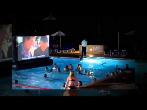 The Inflatable Movie Screen is the Perfect Summer Theater Experience