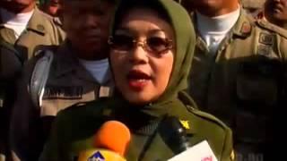 Satpol PP DKI Jakarta Kini Dipimpin Wanita