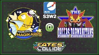 Pokemon TCG - MLPB S3W2 MANKATO MAGIKARP VS DALLAS DARMANITANS by Papa Blastoise