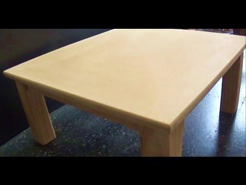 C mo hacer una mesa - Construir una mesa de madera ...